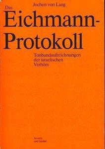 Das Eichmann-Protokoll cover