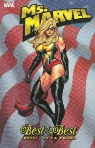 Ms. Marvel cover