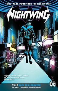 Nightwing Vol. 2: Bludhaven (Rebirth) cover