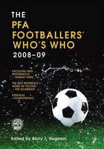 The PFA footballers' who's who 2008-09 cover