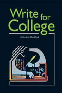 Write For College cover