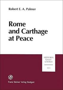 Rome and Carthage at peace