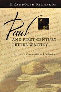 Paul and First-Century Letter Writing cover