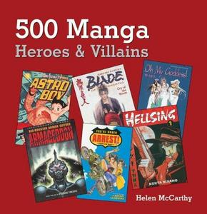 500 Manga Heroes and Villains cover