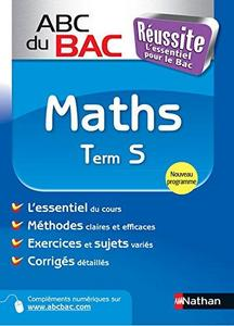 abc reussite maths terminale s specifique cover