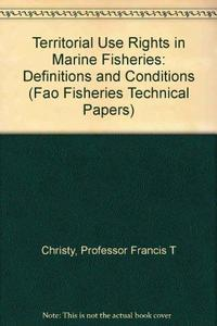 Territorial Use Rights in Marine Fisheries