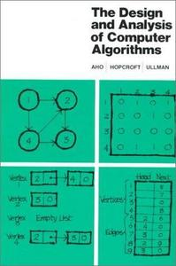 The Design and Analysis of Computer Algorithms cover