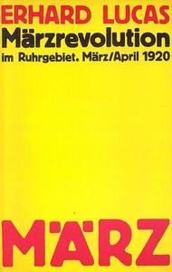 Märzrevolution im Ruhrgebiet cover