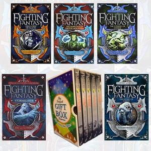 Fighting Fantasy Series (1-5) Steve Jackson and Ian Livingstone Collection 5 Books Bundle Gift Wrapped Slipcase Specially For You