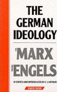 The German Ideology cover