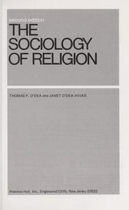 The sociology of religion cover