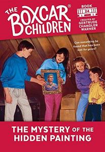 The Mystery of the Hidden Painting cover