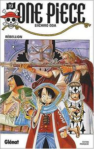 """""""one piece t.19 ; rebellion"""" cover"""