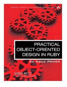 Practical Object-Oriented Design in Ruby cover