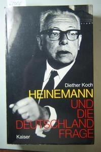 Heinemann und die Deutschlandfrage cover