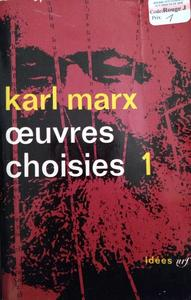 Œuvres choisies cover