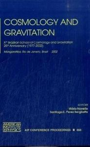 Cosmology and Gravitation cover