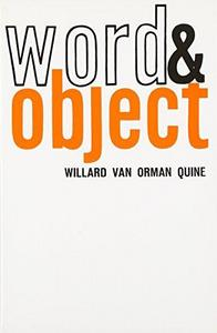 Word and Object cover