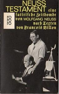 Neuss' Testament cover
