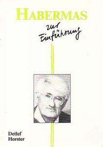 Habermas zur Einführung cover