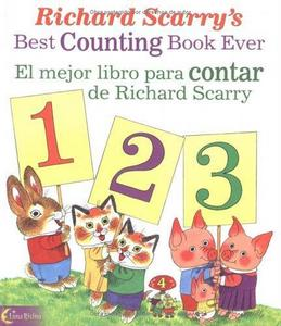 Richard Scarry's Best Counting Book Ever / El mejor libro para contar de Richard Scarry cover