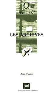 Les archives cover