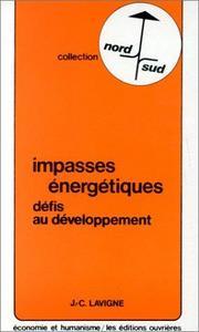 Impasses énergétiques cover
