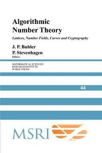 Algorithmic number theory : lattices, number fields, curves and cryptography