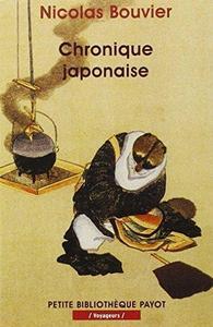 Chronique japonaise cover