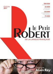 Petit Robert cover