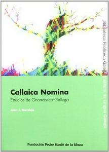 Callaica nomina cover