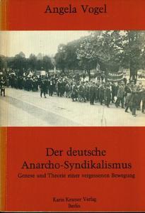 Der deutsche Anarcho-Syndikalismus cover