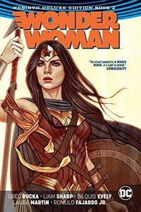 Wonder Woman the Rebirth 2 cover