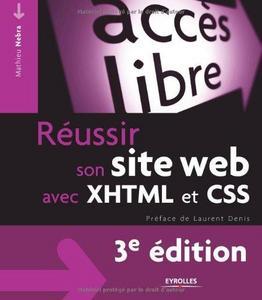 Réussir son site web avec XHTML et CSS cover