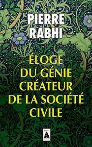 Eloge du génie créateur de la société civile cover