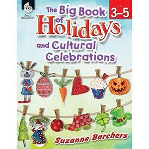 The Big Book of Holidays and Cultural Celebrations Levels 3-5 cover