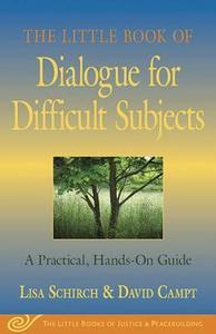 The little book of dialogue for difficult subjects cover