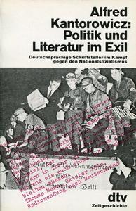 Politik und Literatur im Exil cover
