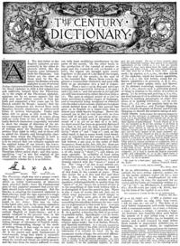 Century Dictionary cover