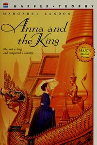 Anna and the King of Siam cover