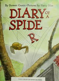 Diary of a Spider cover