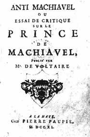 Anti-Machiavel cover