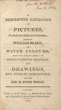 Descriptive Catalogue cover