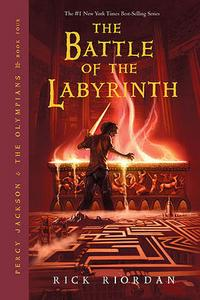 The Battle of the Labyrinth cover