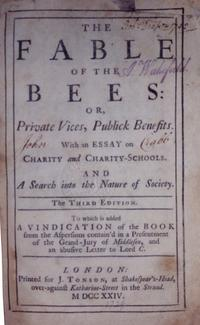 The Fable of the Bees cover