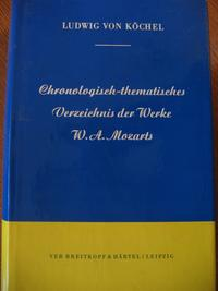 Köchel catalogue cover