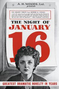 Night of January 16th cover