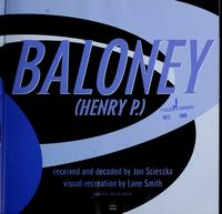 Baloney cover