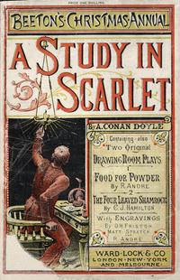 A Study in Scarlet cover
