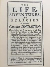 Captain Singleton cover